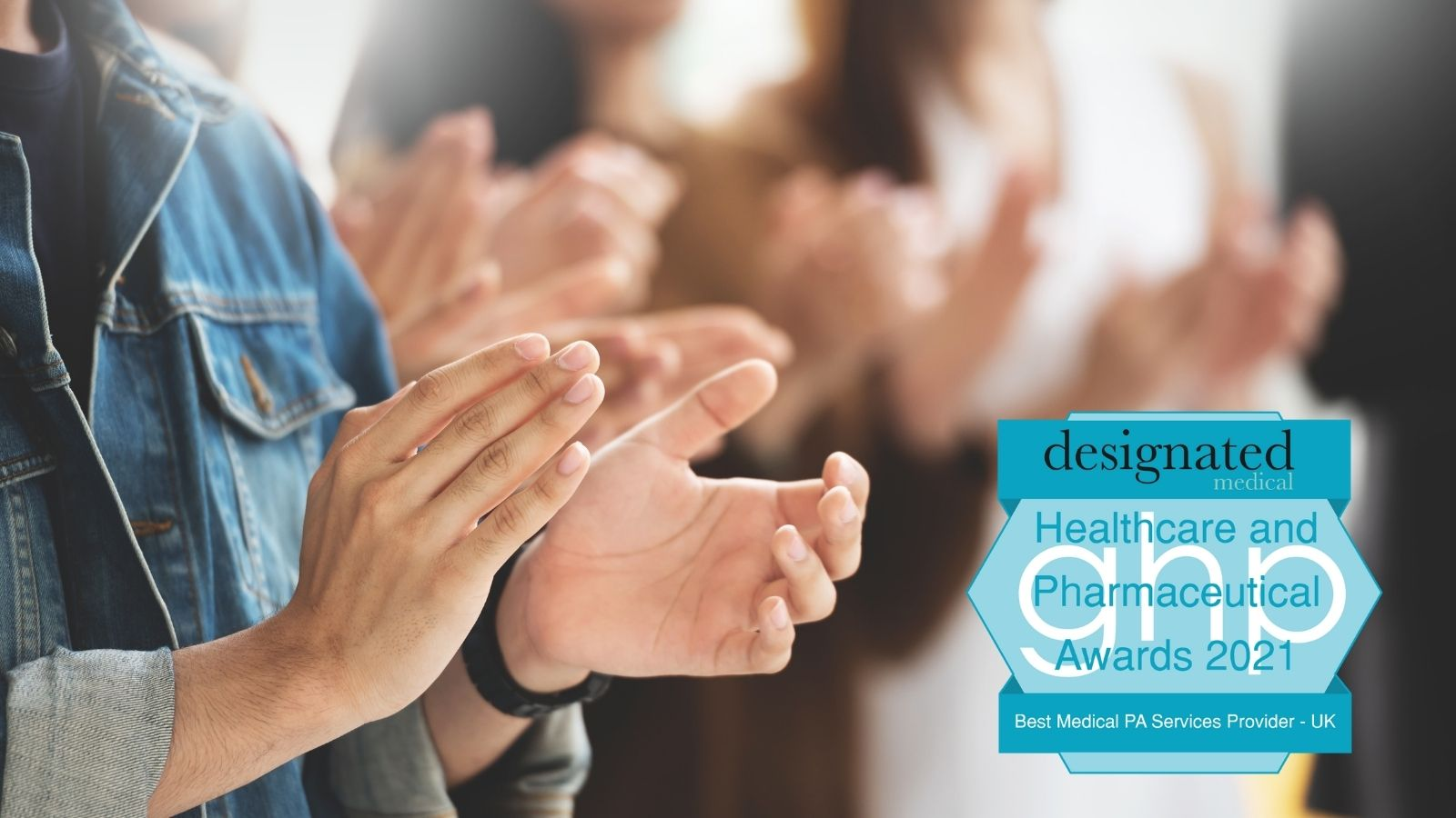 We Won! Best Medical PA Services Provider in the UK.
